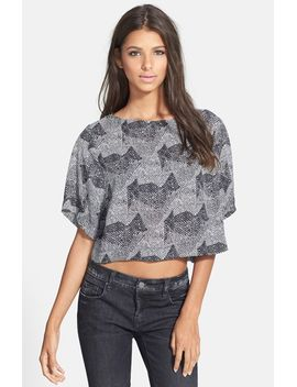 astr-print-boxy-crop-tee by astr-the-label