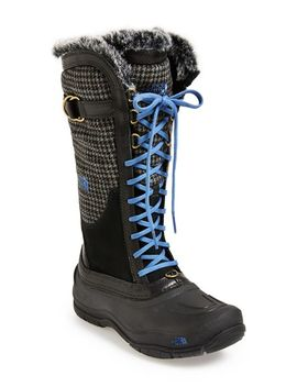 shellista-luxe-waterproof-boot by the-north-face