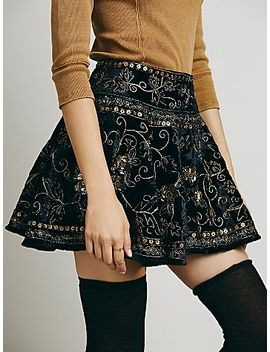 little-layla-velvet-mini by free-people