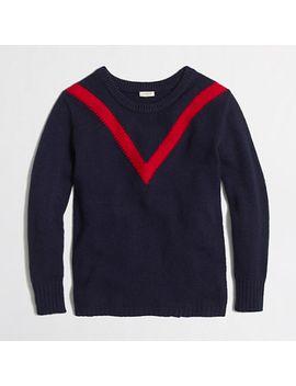 factory-intarsia-chevron-sweater by jcrew