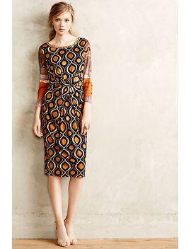 beitiris-midi-dress by anthropologie