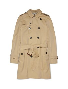 london-long-cotton-gabardine-trench-coat by burberry