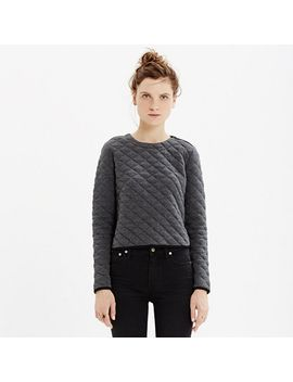 quilted-crop-sweatshirt by madewell
