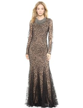 lace-godet-mermaid-gown by vera-wang-collection