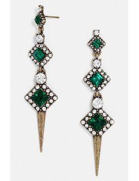 diamond-spine-drop-earrings by baublebar