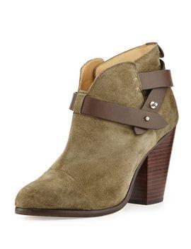 harrow-nubuck-ankle-boot,-stonewall-green by rag-&-bone