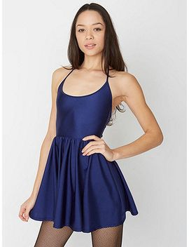 nylon-tricotfigure-skater-dress by american-apparel