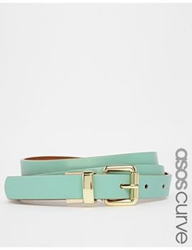 asos-curve-reversible-buckle-hip-and-waist-belt by asos-curve