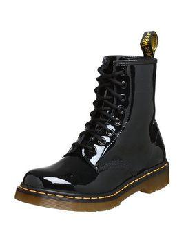 dr-martens-womens-1460-black-patent-lamper-boots by dr-martens