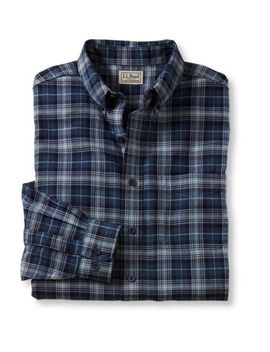 wicked-good-flannel-shirt,-traditional-fit-houndstooth by llbean