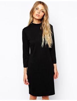 vila-high-neck-dress by vila