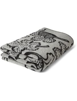 patterned-wool-and-cashmere-blend-blanket by burberry