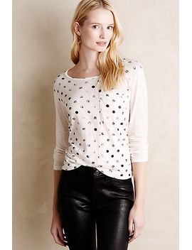 shimmered-dot-tee by anthropologie