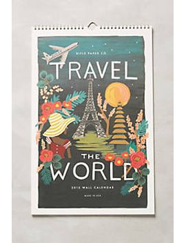 travel-the-world-2015-calendar by anthropologie