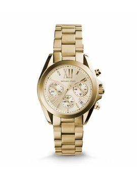 bradshaw-gold-tone-stainless-steel-watch by michael-kors