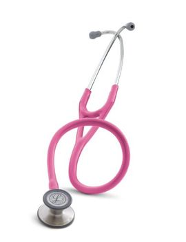 3m-littmann-cardiology-iii-stethoscope,-breast-cancer-awareness-special-edition,-rose-pink-tube,-27-inch,-3163 by 3m-littmann