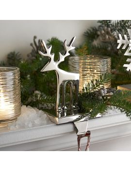 reindeer-stocking-hook by crate&barrel
