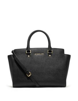 selma-large-saffiano-leather-satchel by michael-michael-kors