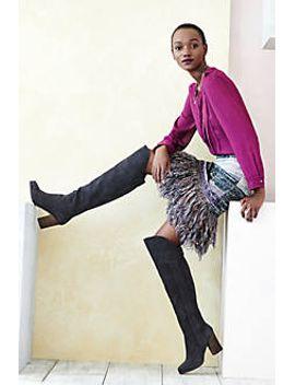 glinted-sweater-skirt by cecilia-prado