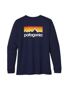 patagonia-mens-long-sleeved-line-logo-t-shirt by patagonia