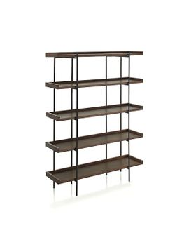 beckett-5-high-shelf by crate&barrel