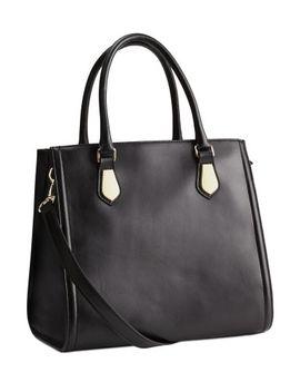 leather-handbag by h&m