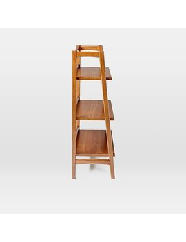 mid-century-bookshelf---low-wide by west-elm