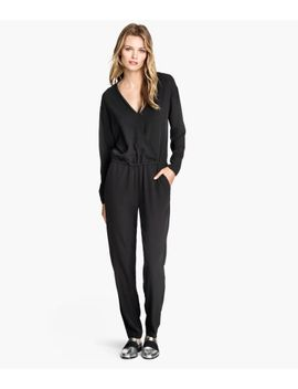 v-neck-jumpsuit by h&m