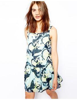 vila-floral-print-drop-hem-sleeveless-dress by vila