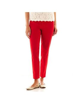 jcp-crossover-ankle-pants by jcp-crossover-ankle-pants