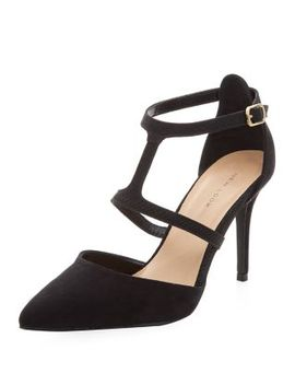 black-half-t-bar-strap-pointed-heels by new-look