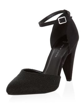 wide-fit-black-pointed-ankle-strap-heels by new-look