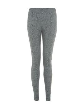 grey-jacquard-check-leggings by new-look