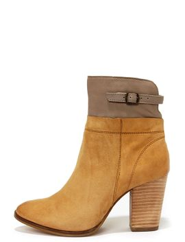 seychelles-fascinate-tan-and-grey-suede-leather-booties by seychelles