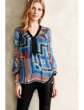 labyrinth-peasant-blouse by anthropologie