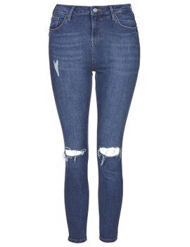 petite-moto-blue-jamie-jeans by topshop