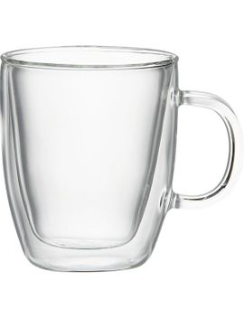 bodum-®-bistro-mug by crate&barrel