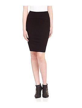 kensie-ponte-pencil-skirt by generic