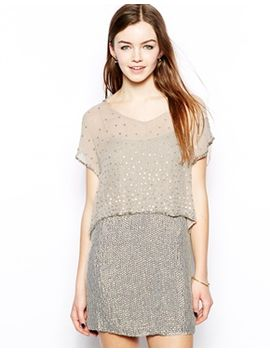 french-connection-pearl-queen-v-neck-dress by french-connection