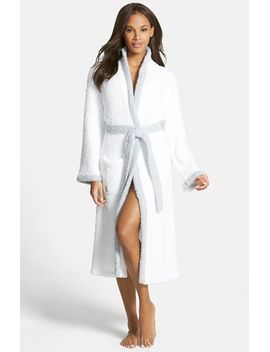 cozychic®-contrast-trim-robe by barefoot-dreams®