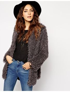 asos-jacket-in-mongolian-fur by asos-collection