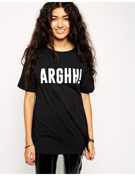 asos-argh!-ghost-two-way-t-shirt by asos-collection
