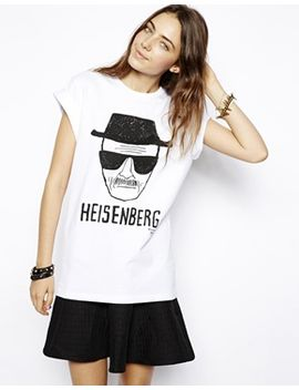 asos-t-shirt-with-breaking-bad-heisenberg-print by asos-collection