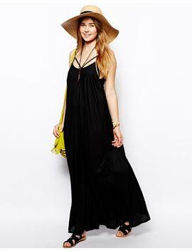 asos-trapeze-maxi-beach-dress by asos-collection