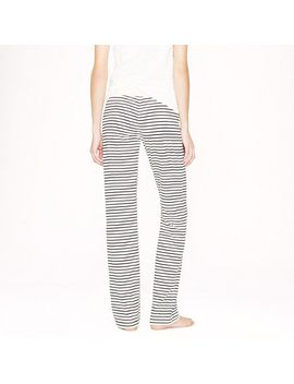 dreamy-cotton-pant-in-stripe by jcrew