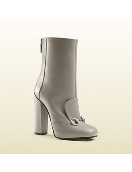 leather-horsebit-ankle-boot by gucci