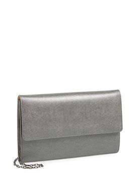 saffiano-leather-day-clutch by halogen®