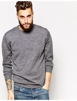 french-connection-lambswool-crew-neck-sweater by french-connection
