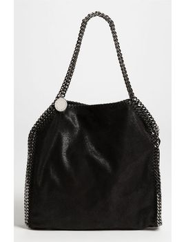 small-falabella---shaggy-deer-faux-leather-tote by stella-mccartney