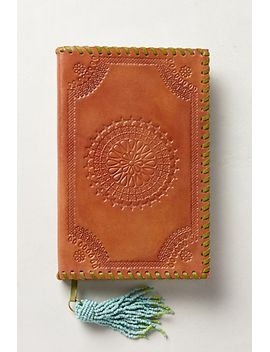 embossed-leather-journal by anthropologie